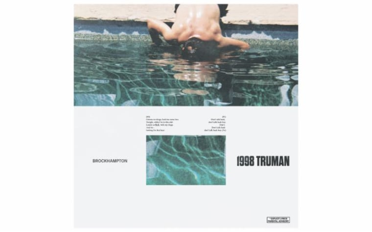 "BROCKHAMPTON drop new single ""1998 TRUMAN"""