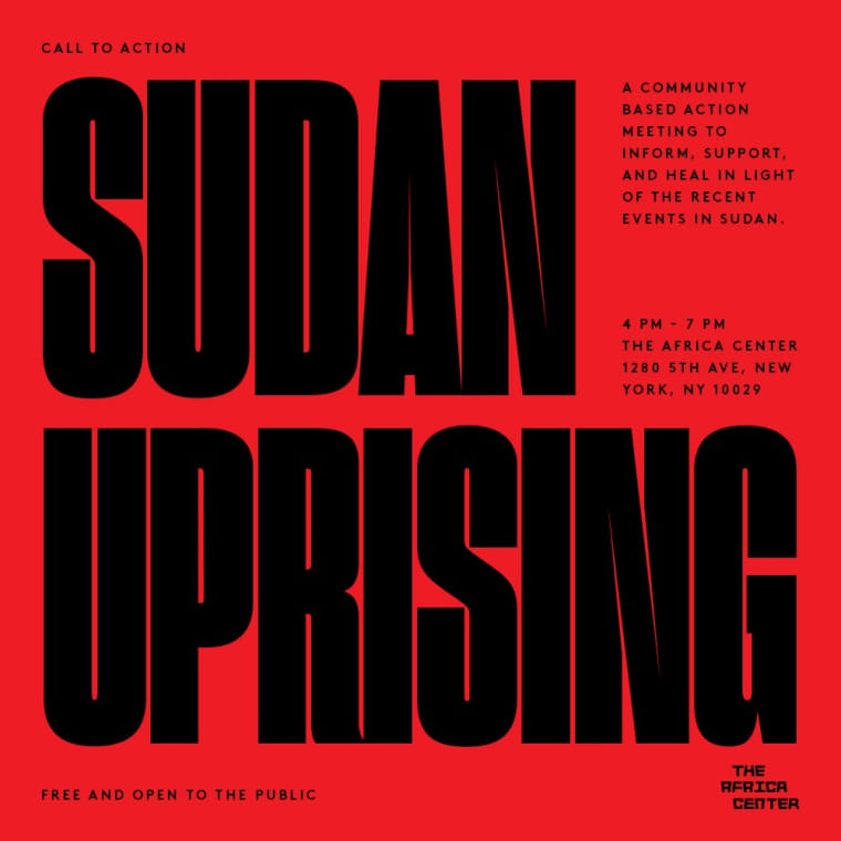 Here are ways to support the Sudanese Uprising