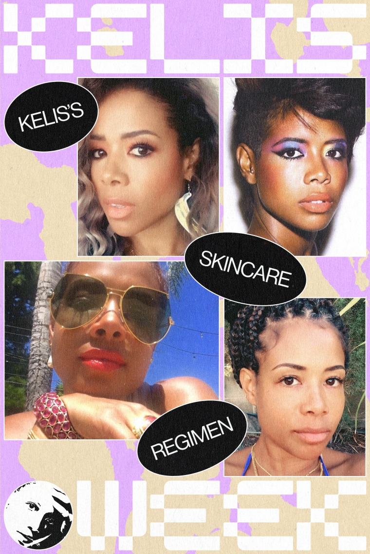 We asked Kelis to leak her skincare routine