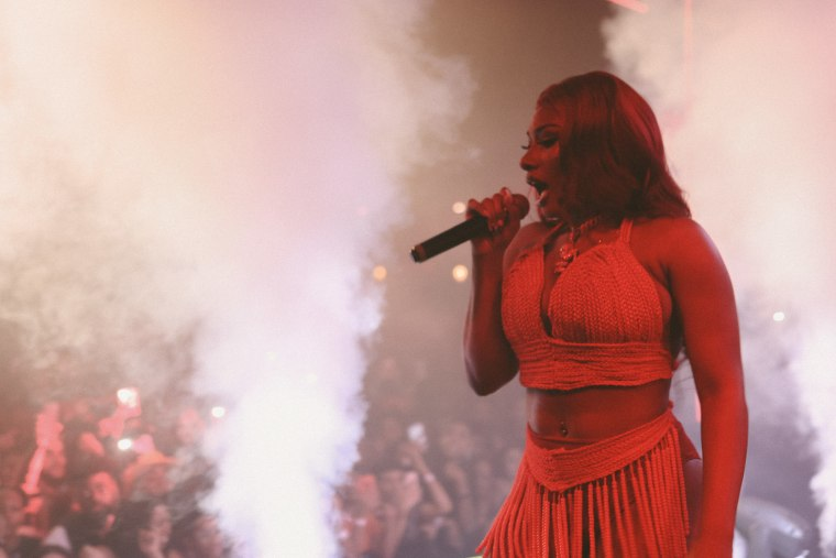 Last night, Megan Thee Stallion flipped Houston on its head