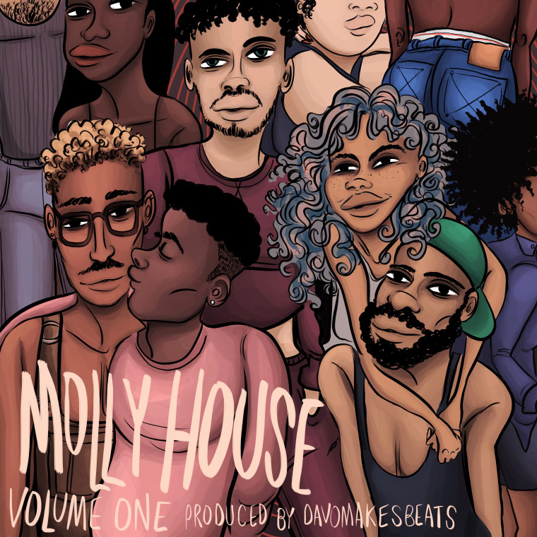 "Bust It Down To Molly House Records And Bbymutha's ""Dark N Lovely"""