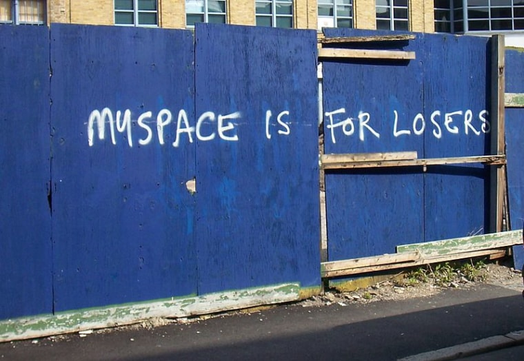Corporate giants like Myspace shouldn't be trusted with your songs