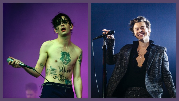 Matty Healy says he wants to produce Harry Styles' next album