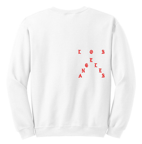 """Kanye West Releases """"No More Parties In L.A."""" Crewneck Sweatshirts"""