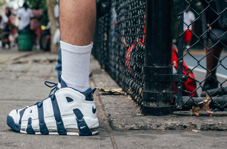 "Your Pair Of Nike Air More Uptempo ""Olympics"" May Also Come With A Scottie Pippen Meet & Greet"