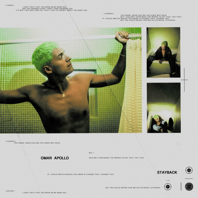 """Hear the first single from Omar Apollo's forthcoming debut album, """"Stayback"""""""