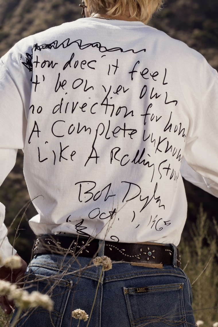 L.A. brand Pleasures looks to Bob Dylan for their new collection