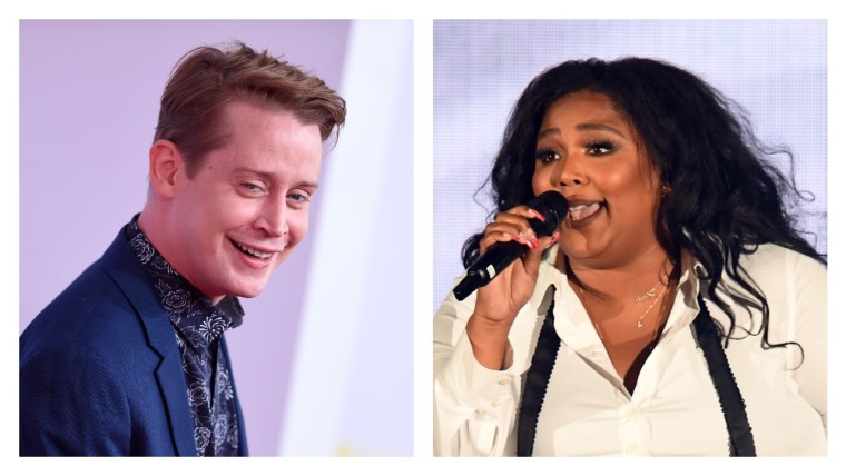 Watch this cursed footage of Macaulay Culkin dancing on stage with Lizzo