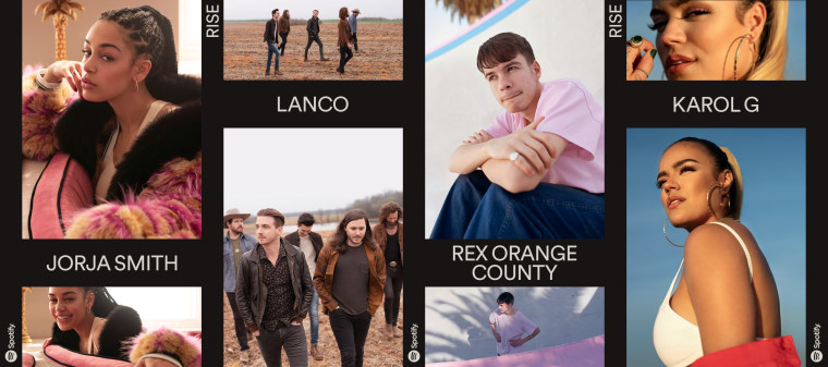 Jorja Smith and Rex Orange County named as part of Spotify's RISE