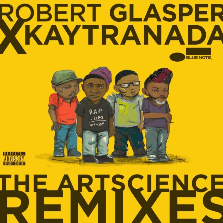 Listen to Robert Glasper and Kaytranada's <I>The Artscience Remixes</i>