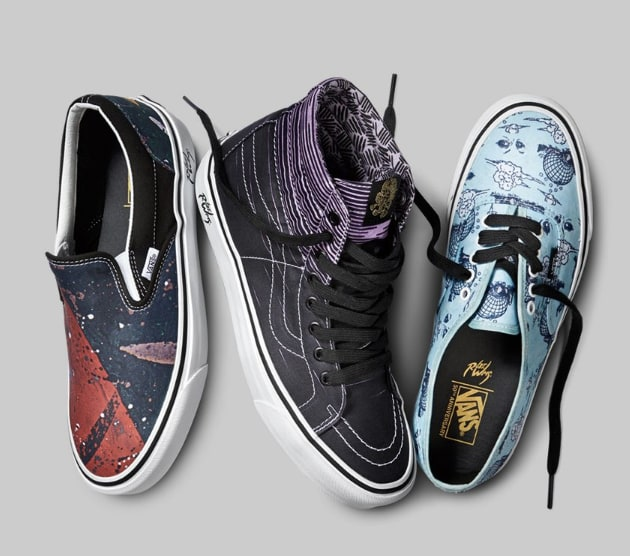 Vans Is Teaming Up With Juxtapoz Founder And Artist Robert Williams