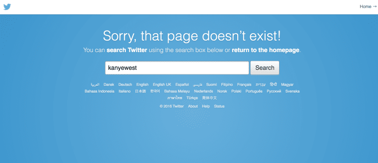 Kanye West's Twitter Account Seemingly Disappears