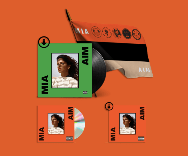 Pre-Order M.I.A.'s <i>AIM</i> And Get Four Songs Immediately