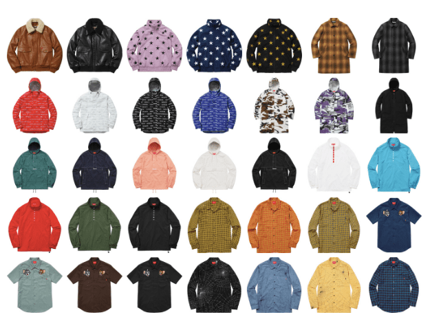Supreme's Fall Collection Is Finally Online
