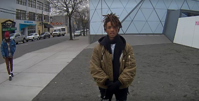 Watch Jaden Smith Protest Trump In Shia LaBeouf's New Performance Art Piece