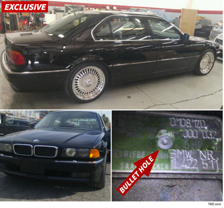 BMW That Tupac Was Murdered In On Sale For $1.5 Million