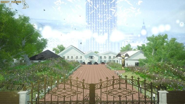 Take A Virtual Reality Tour Of Drake's Huge New Mansion