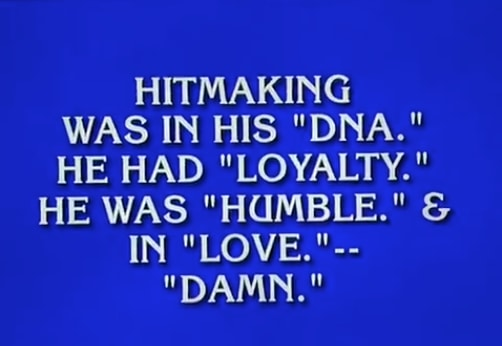 Kendrick Lamar was an answer on Jeopardy tonight
