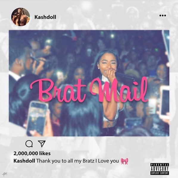 Kash Doll drops <i>Brat Mail</i>