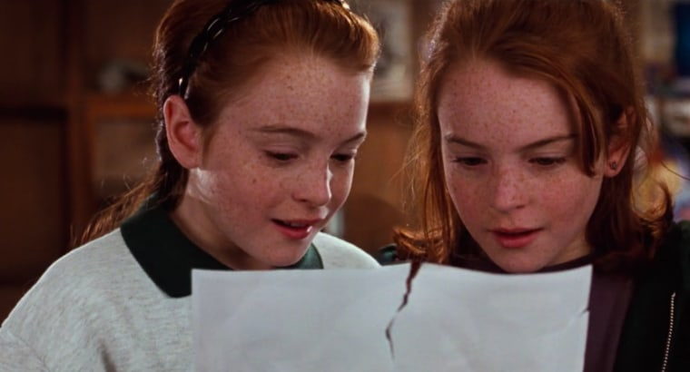 If you're snowed in, watch <i>The Parent Trap</i>