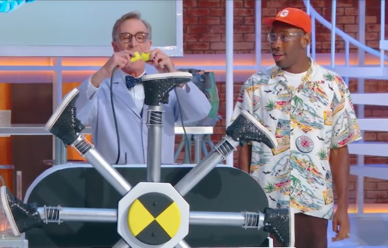 Tyler the Creator appears on the new season of <i>Bill Nye Saves The World</i>