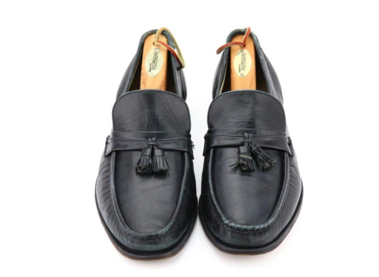 Do you have enough money to bid on Michael Jackson's moonwalk loafers?