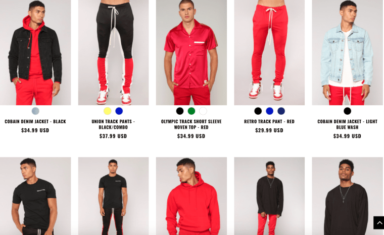 Fashion Nova's mens line has arrived
