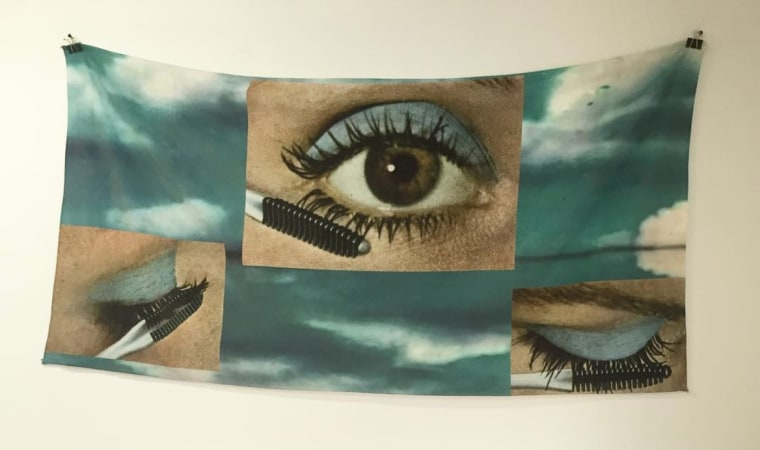 Sapphire Pools makes beach towels that are actual art