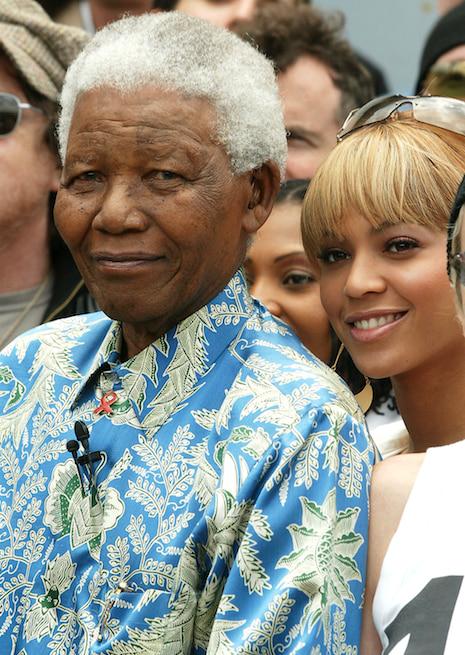 Read Beyoncé's tribute letter to Nelson Mandela