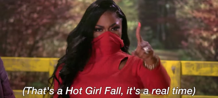 Megan Thee Stallion has officially declared Hot Girl Fall