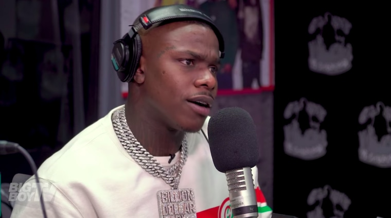 DaBaby says he only listens to his own music, wouldn't work with 6ix9ine