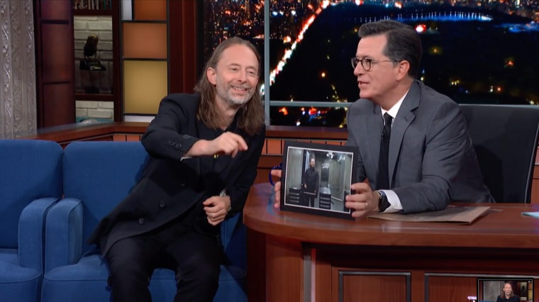 Watch Thom Yorke discuss <i>ANIMA</i>, Brexit with Stephen Colbert