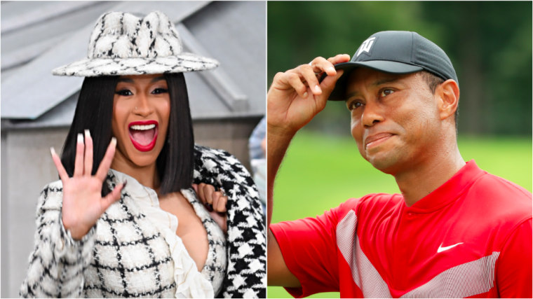 "Cardi B: ""I think I'm gonna name my album <i>Tiger Woods</i>"""