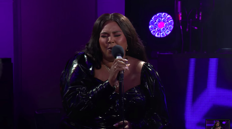 Watch Lizzo cover Harry Styles