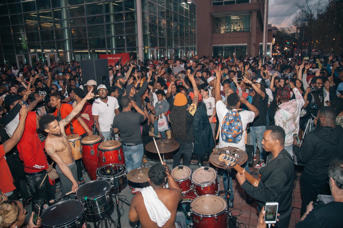Go-go music is now legally the official sound of Washington D.C.