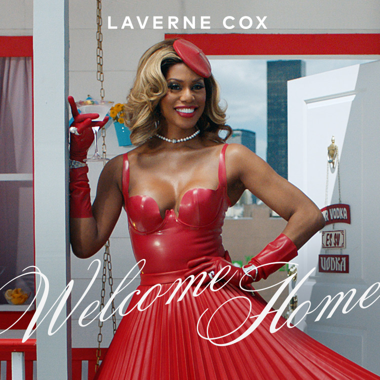 "Laverne Cox heads to the ballroom for new single ""Welcome Home"""