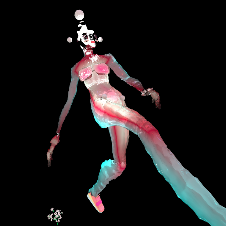 Animator Jeron Braxton and designer Sho Konishi made a mind-boggling virtual fashion show