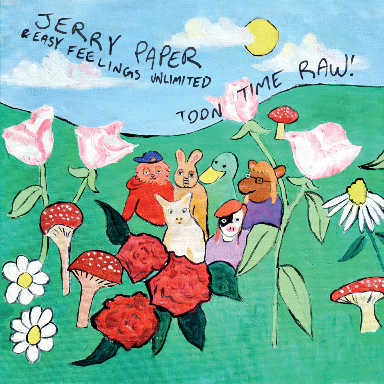 "Listen to ""Ginger & Ruth,"" The Existential First Single From Jerry Paper's New Concept Album"