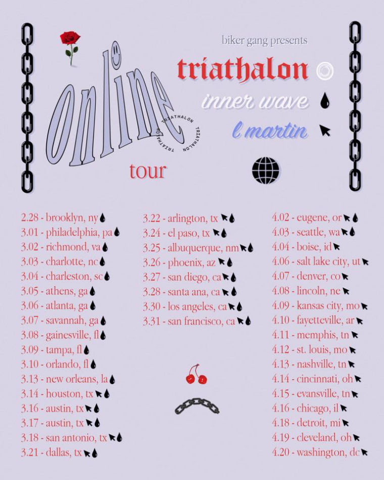 New York band Triathalon's <i>Online</i> will transport you to a parallel world