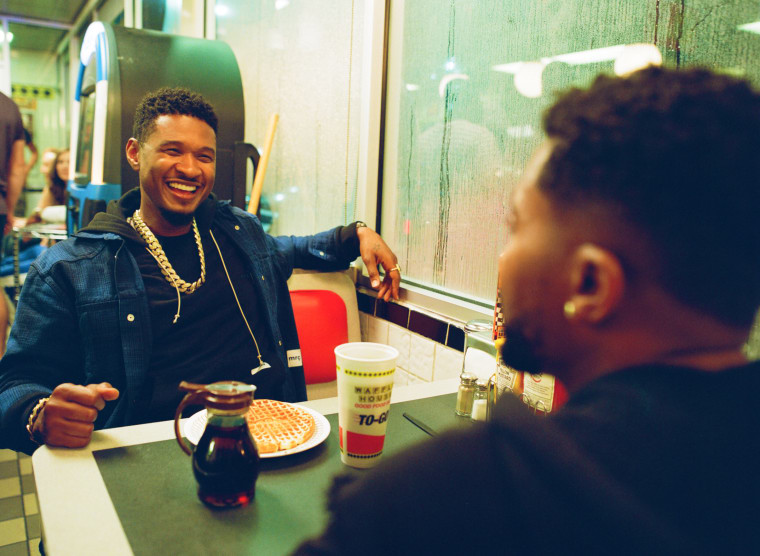 Usher on creating his surprise project <i>A</i> with Zaytoven