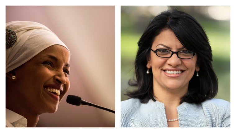 Ilhan Omar and Rashida Tlaib just became the first Muslim women elected to Congress