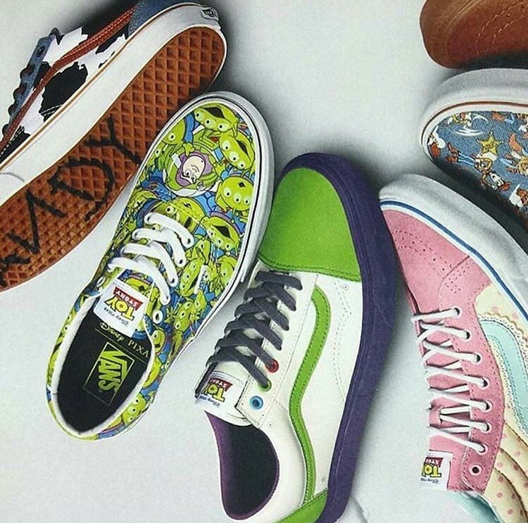 3341aea8df Vans Teams Up With Pixar For A Toy Story Collection