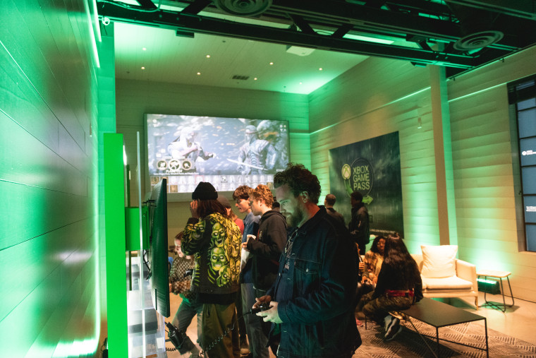 Xbox Turned FADER FORT into Gaming Heaven