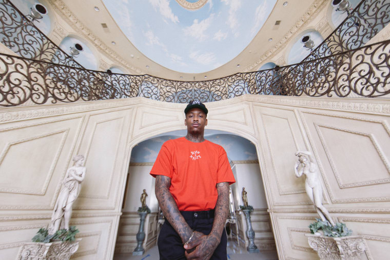 YG Models His New Capsule Collection For BornxRaised