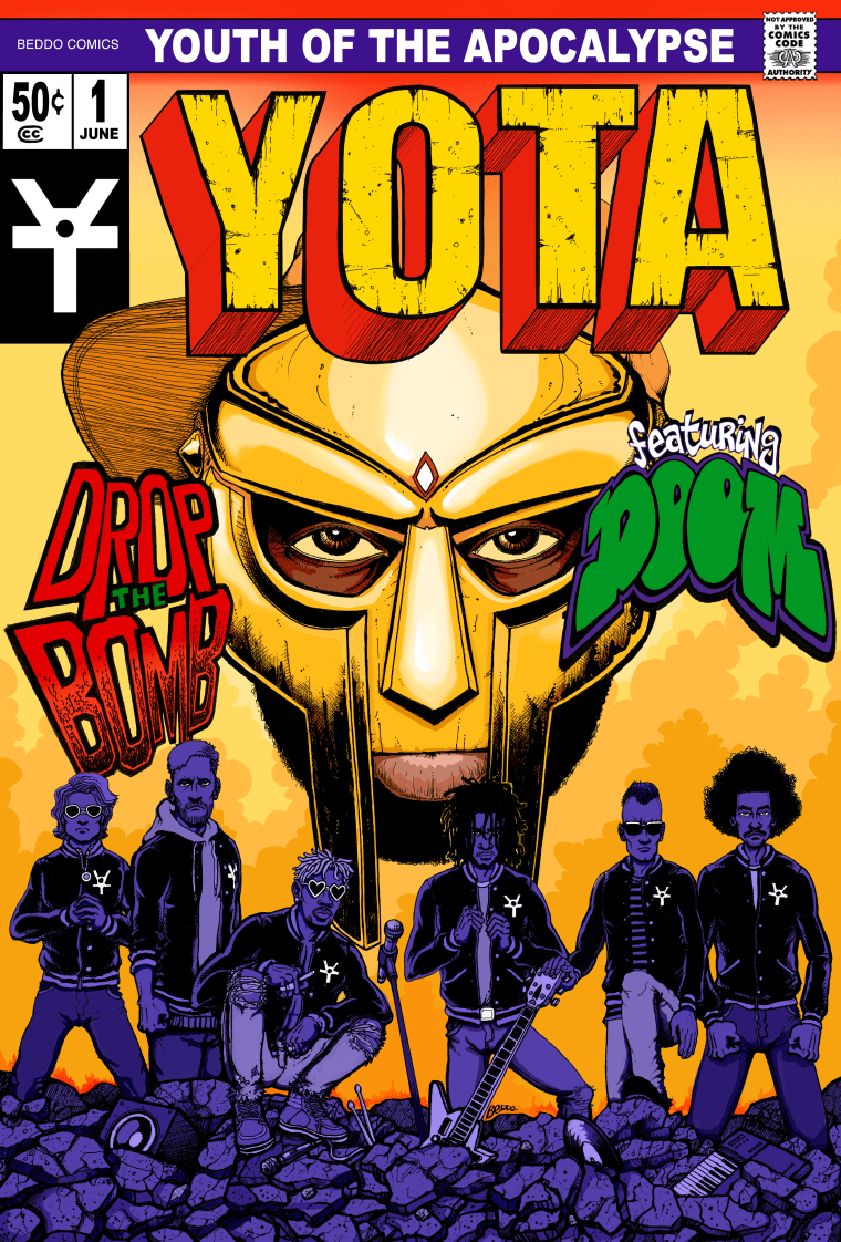 YOTA : Youth of the Apocalypse team up with MF DOOM on debut single