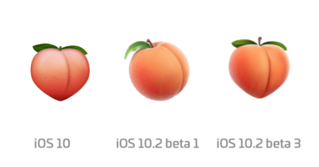 Apple's Peach Emoji Looks Like A Butt Again
