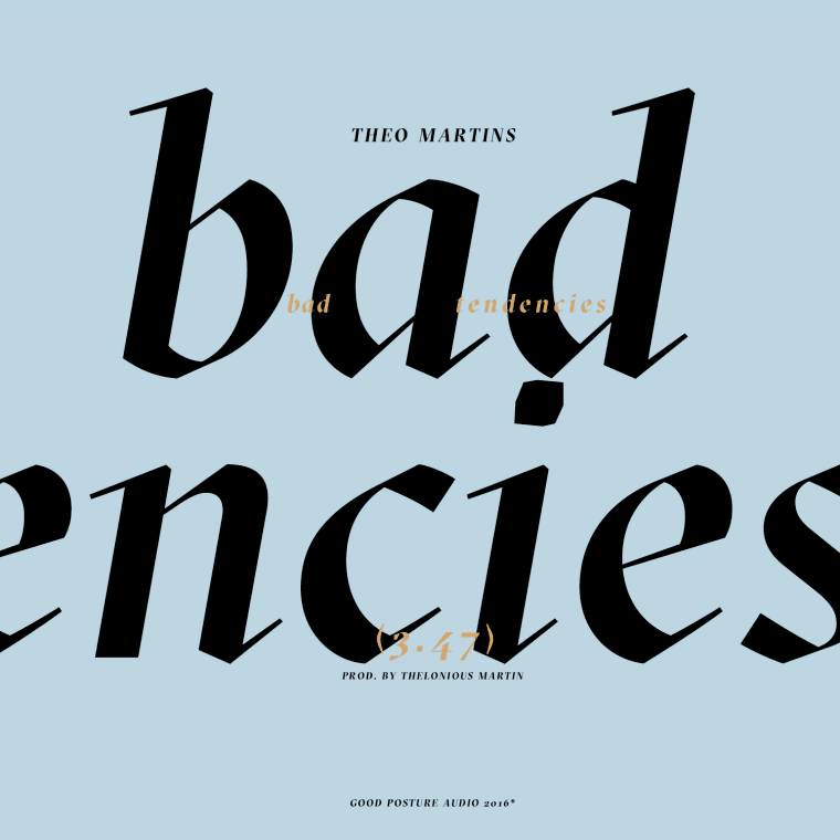 "Theo Martins Is Only Giving Light To The Right Energy On ""Bad Tendencies"""