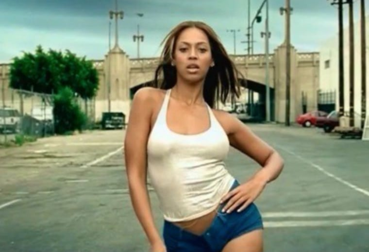 "15 years later, we still want to wear every look in the ""Crazy In Love"" video"