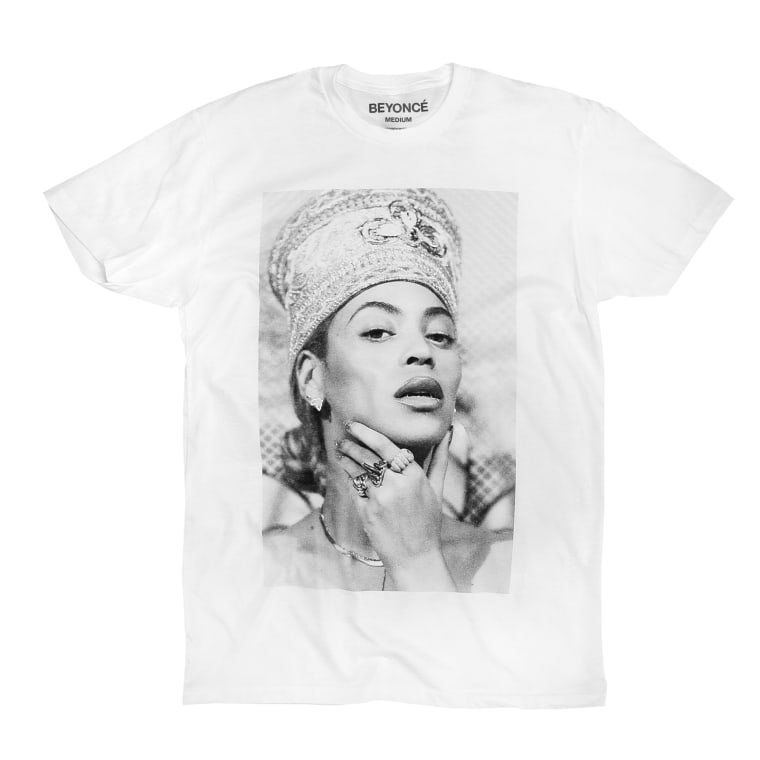Beyoncé releases Nefertiti-inspired spring merch