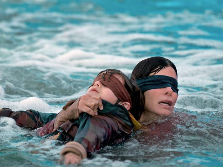 Netflix urges viewers not to take part in the <I>Bird Box</i> challenge